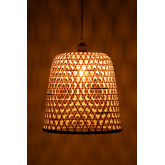 Ceiling Lamp in Rattan (Ø30 cm) Kalde, thumbnail image 5