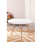 Ø120 MDF Brich Scand Table, thumbnail image 2