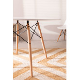 Ø120 MDF Brich Scand Table, thumbnail image 3