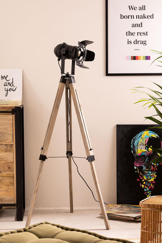 Cinne Tripod Floor Lamp, gallery image 1