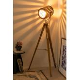 Bamboo Tripod Floor Lamp, thumbnail image 4