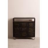 Wooden Chest of Drawers Warce , thumbnail image 3