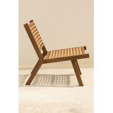 Ayat Garden Chair in Synthetic Wicker , thumbnail image 4