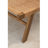 Synthetic Wicker Garden Chair Miri , thumbnail image 6