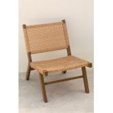 Synthetic Wicker Garden Chair Miri , thumbnail image 2