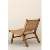 Synthetic Wicker Garden Chair Miri , thumbnail image 5