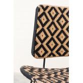 Corvik Synthetic Wicker Garden Lounge Chair, thumbnail image 6
