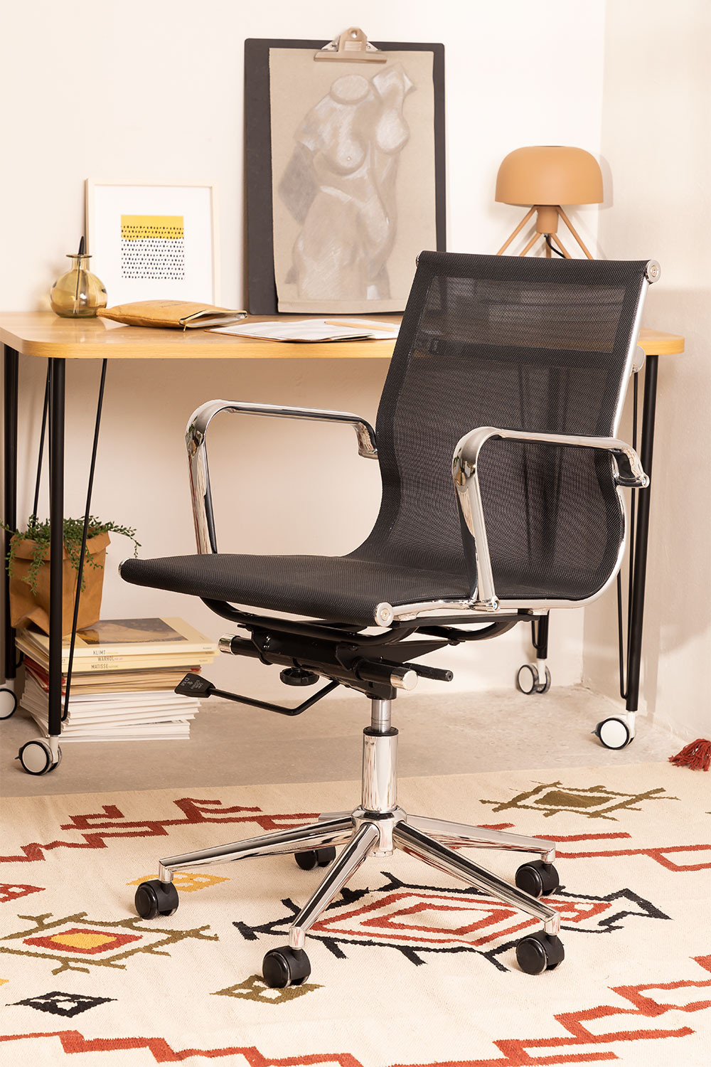 Office Chair on casters Chrim , gallery image 1