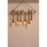 Savy Wood Pendant Lamp, thumbnail image 2