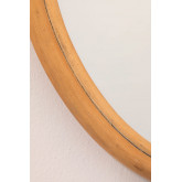 Rattan Wall Mirror (50.5x36.5 cm) Onell, thumbnail image 3