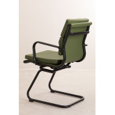 Office Chair with Armrests Mina Black, thumbnail image 4