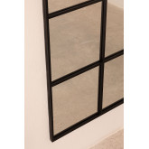Wall Mirror in Metal Window Effect (180x59 cm) Paola L, thumbnail image 5
