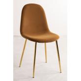 Glamm Velvet Chair, thumbnail image 2
