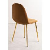 Glamm Velvet Chair, thumbnail image 4
