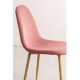 Glamm Velvet Chair, thumbnail image 3