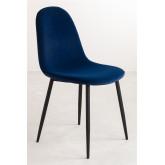 PACK of 2 Glamm Velvet Chair, thumbnail image 2
