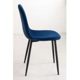 PACK of 2 Glamm Velvet Chair, thumbnail image 3