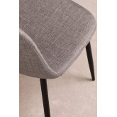 PACK of 4 Glamm Chairs in Linen, thumbnail image 5