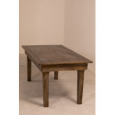 Isden Folding Wooden Dining Table (180x90 cm), thumbnail image 1