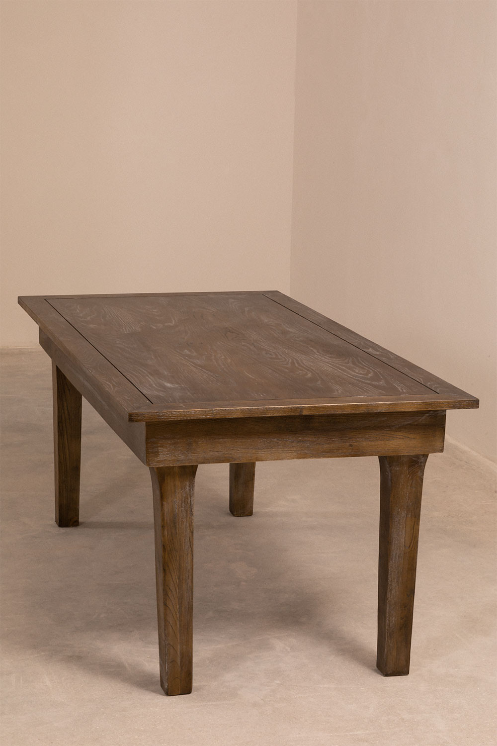 Isden Folding Wooden Dining Table (180x90 cm), gallery image 1