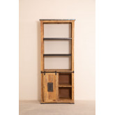Wooden  Shelving Cabinet with 4 draws Uain , thumbnail image 3