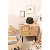 Bedside table in MDF Cialu, thumbnail image 1