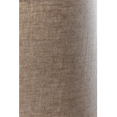 Linen Table Lamp  with  wooden stand Ulga, thumbnail image 5