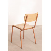 Chair in MDF and Steel Shatys, thumbnail image 5