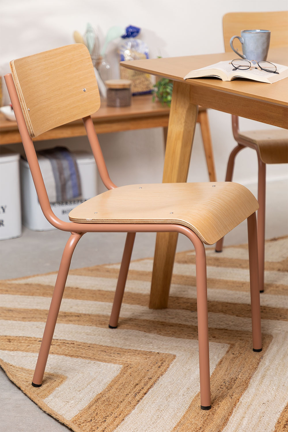 Chair in MDF and Steel Shatys, gallery image 1