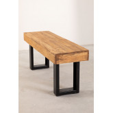 Recycled Wood Bench Bech, thumbnail image 4