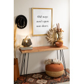 Recycled Wood Console Pek , thumbnail image 1