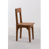 Vignet Recycled Wood Chair, thumbnail image 2