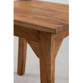Vignet Recycled Wood Chair, thumbnail image 4