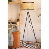 Rattan Floor Lamp Elias, thumbnail image 1