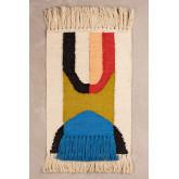 Cotton and Jute Rug (90x60 cm) Tyzon, thumbnail image 1