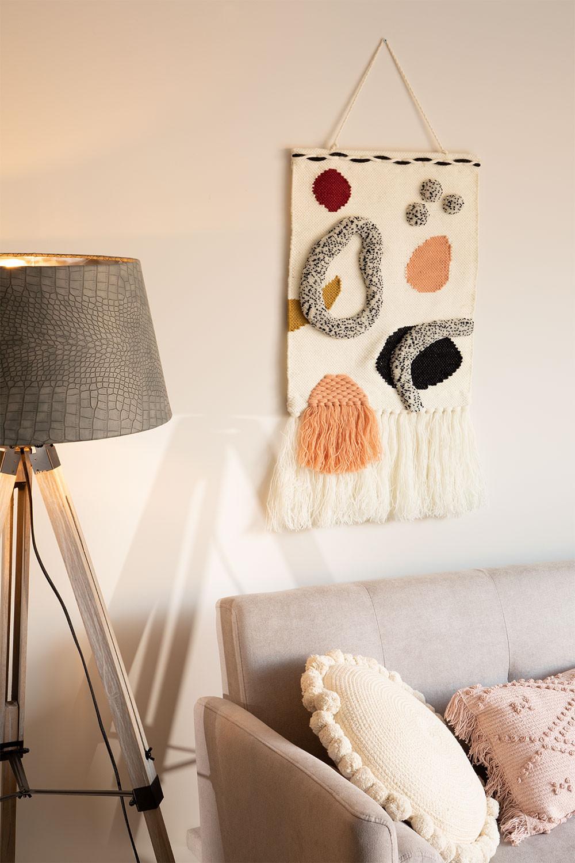 Lapu Wool Mural Tapestry, gallery image 1