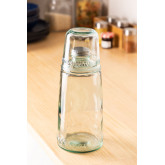 1L Bottle with Gad Recycled Glass Cup, thumbnail image 1