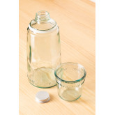 1L Bottle with Gad Recycled Glass Cup, thumbnail image 2