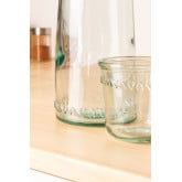 1L Bottle with Gad Recycled Glass Cup, thumbnail image 3