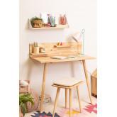 Wooden Desk Set Arlan, thumbnail image 1