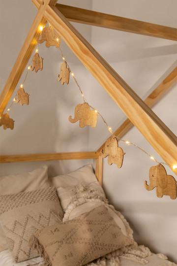 LED Decorative Wreath (2,30 m) Domby Kids
