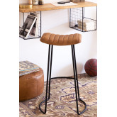 High Stool in Copi Leather, thumbnail image 1