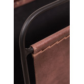 Leather Magazine Rack Cayna, thumbnail image 4