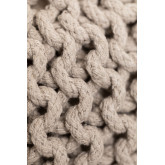 Knitted Round Pouffe Greicy , thumbnail image 4