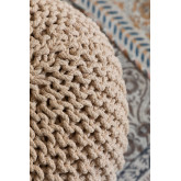 Knitted Round Pouffe Greicy , thumbnail image 3