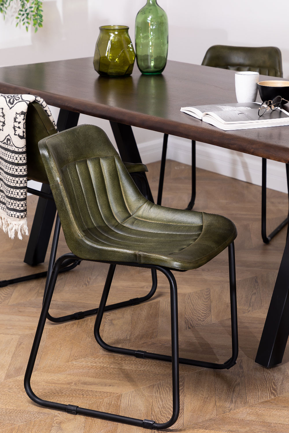 Leather Dining Chair Kindia , gallery image 1