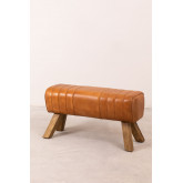Leather Bench Aldra, thumbnail image 2