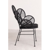 Synthetic Wicker Armchair Rinum , thumbnail image 3