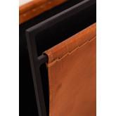 Zaila Leather Magazine Rack , thumbnail image 4