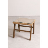 Gerder Synthetic Wicker Coffee Table, thumbnail image 4